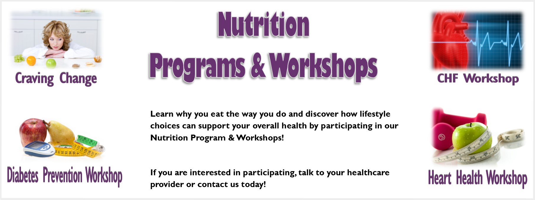 Nutrition Programs and workshops